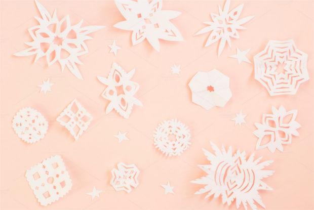 Simple Paper Snowflake Design