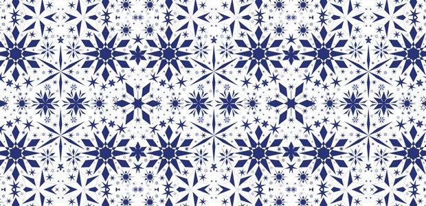 geometric-snowflake-pattern