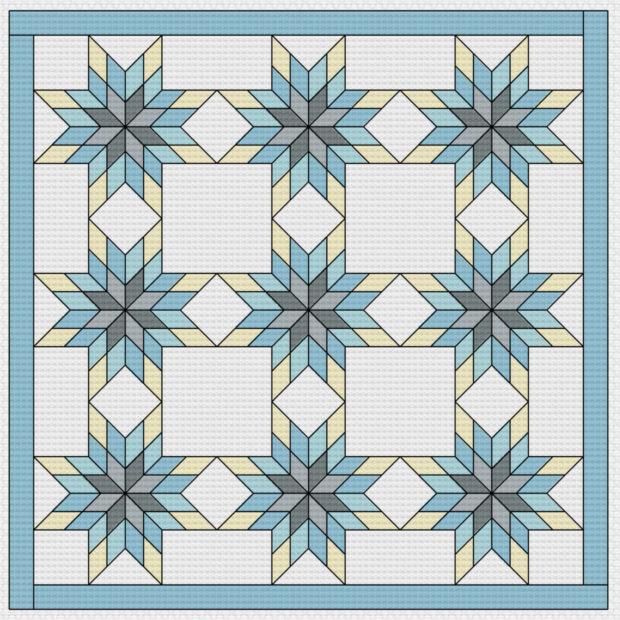 photoshop-snowflake-quilt-pattern