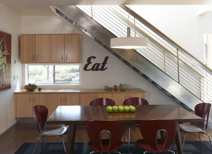 Dining Room Wooden Cabinet Design