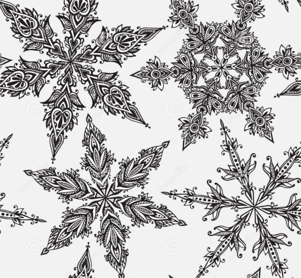 hand-drawn-doodle-snowflake-design