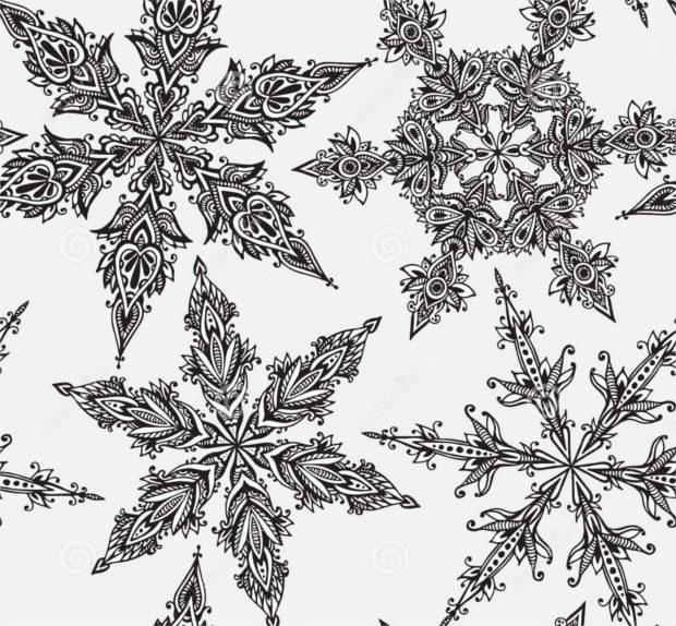 hand-drawn-doodle-snowflake-design