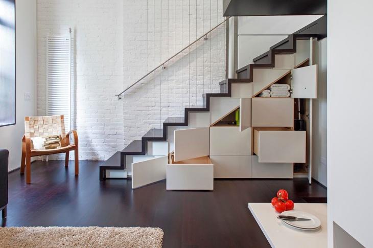 Under Stair Storage Cabinet Design