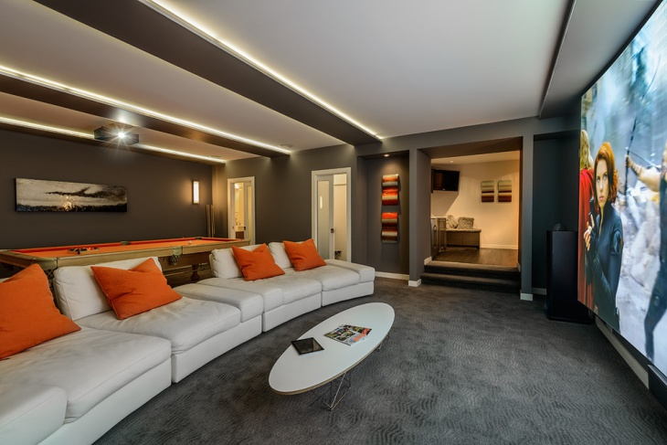 Modern Home Theater Furniture Design