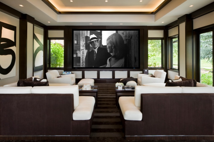 theaters throughout living room home design new | 40+ Home Theater Designs, Ideas | Design Trends - Premium ...