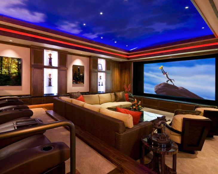 Home Theater False Ceiling Design