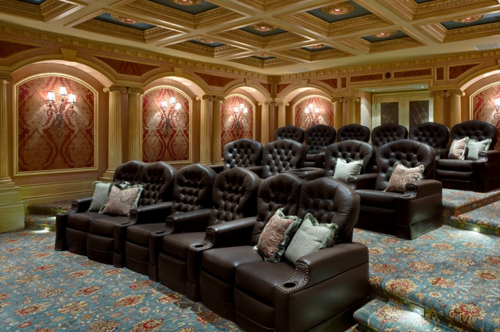 Luxury Home Theater Furniture Design
