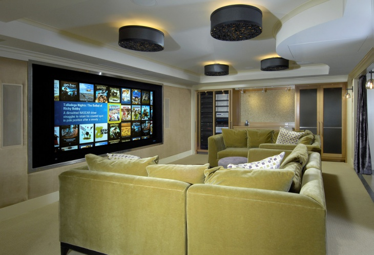Basement Home Theater Lighting