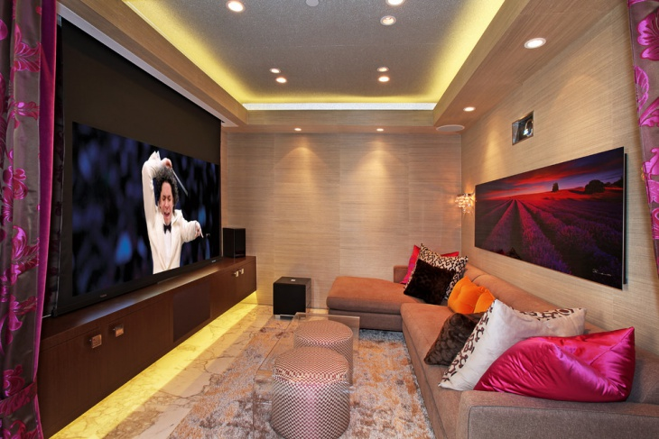 Small Home Theater Interior Design