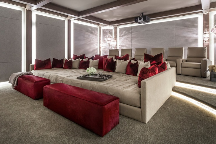 Contemporary Home Theater Furniture Design