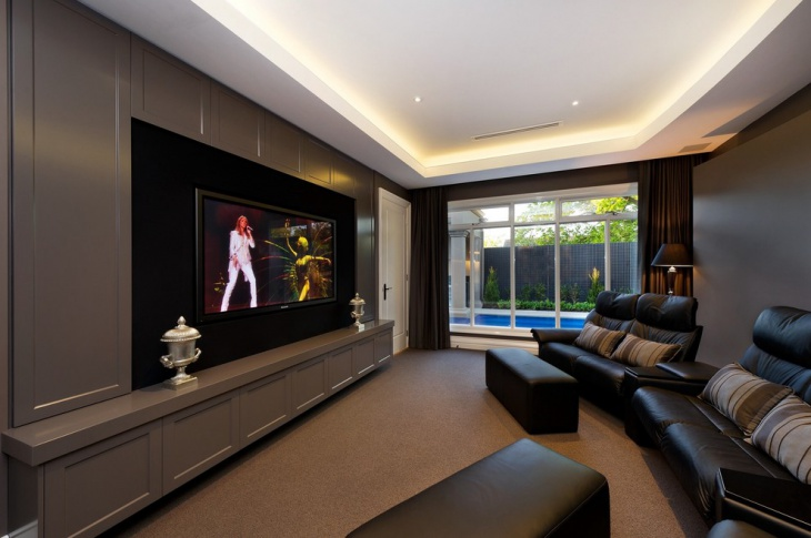 Small Home Theater Ceiling Design
