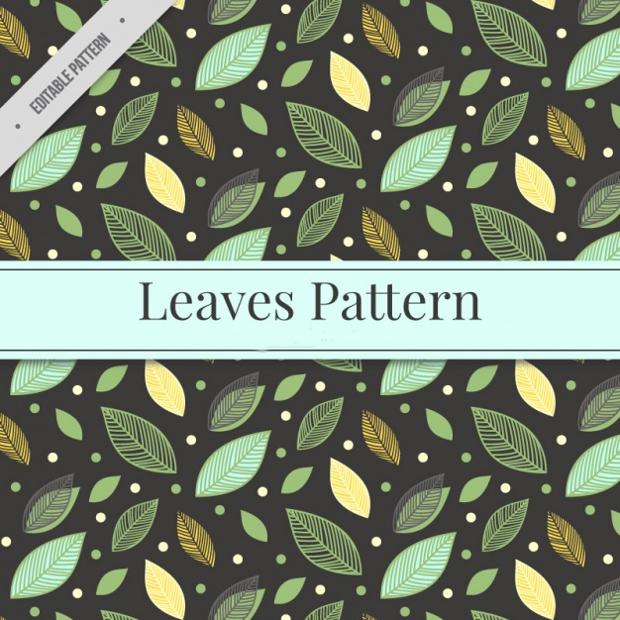 High Quality Leaf Pattern Design