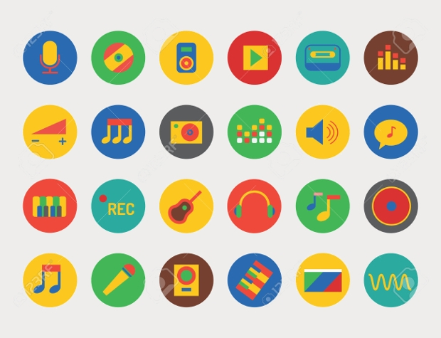Music Tool Icons