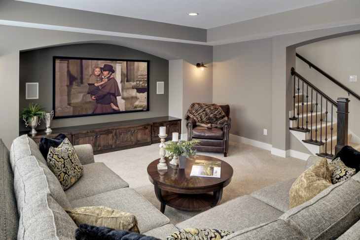 Small Home Theater Remodeling Design