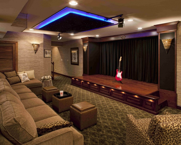 Exceptionnel Home Theater Front Stage Design