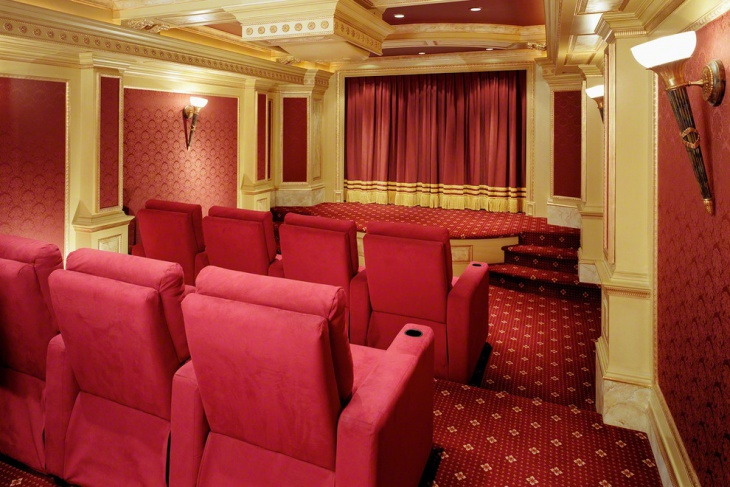 Home Theater Stage Curtain Design