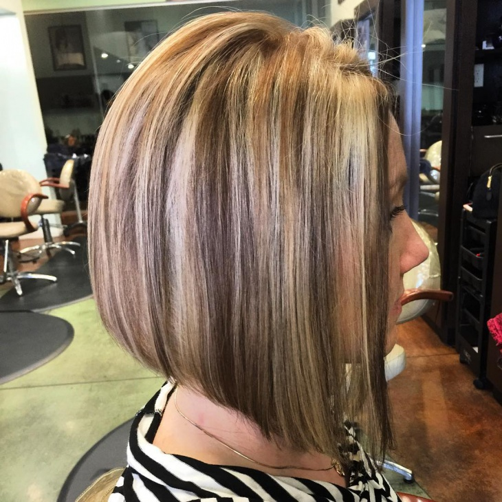 Short A Line Bob Haircut