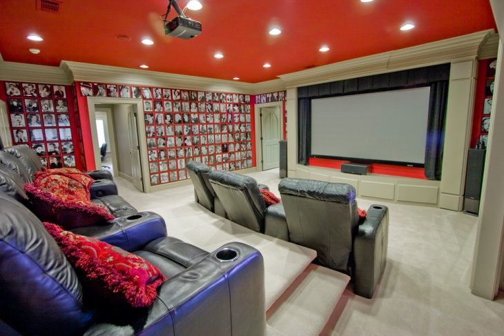 Home Theater Room Wall Design