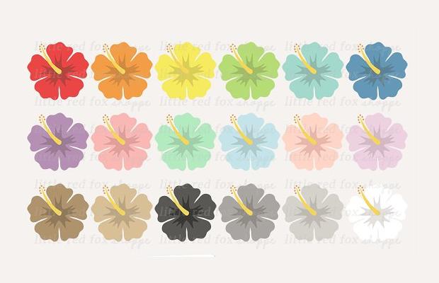 Hawaiian Flower Clipart
