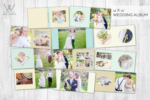 photography wedding album design