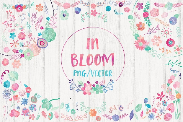 Bloom Flower Clipart