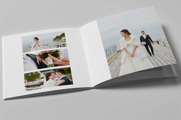 modern wedding album design
