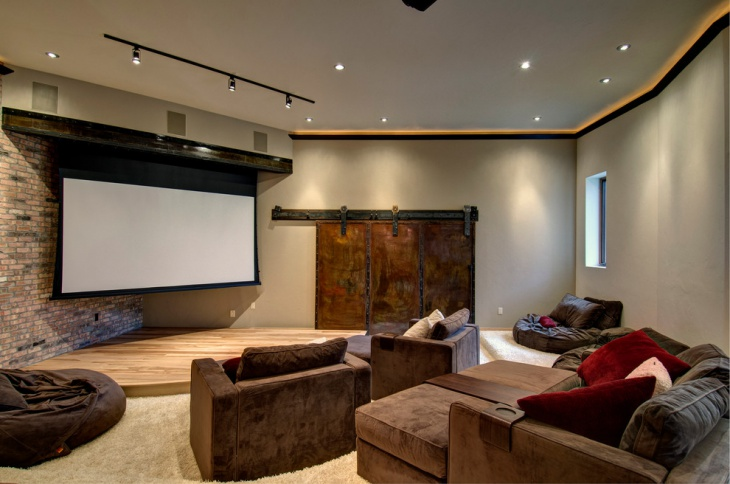 Diy Home Theater Seating Idea