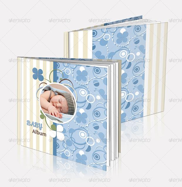 kid photo album design