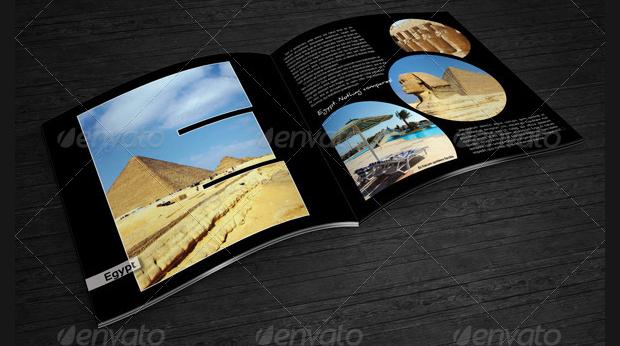 Travel Photo Album Design