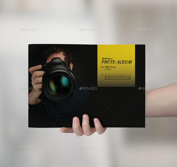 Multipurpose Photo Album Template