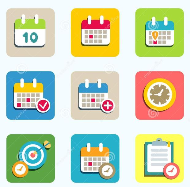 Event Calendar Icons