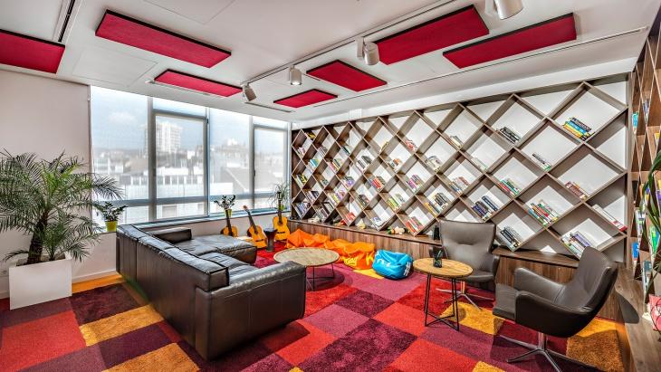 Office Library Shelving Design