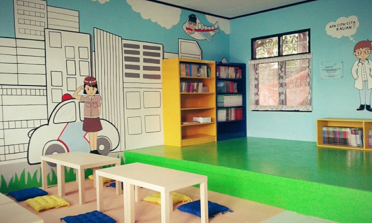 Small School Library Design