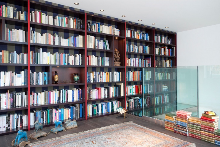 Modern Wall Library Design