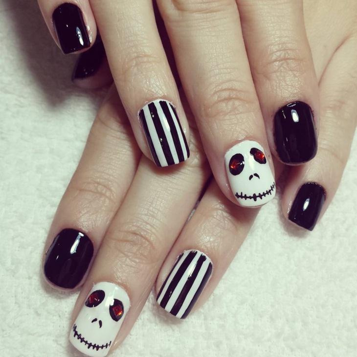 monster high nail art
