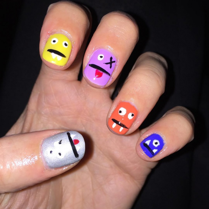 gorgeous monster nails