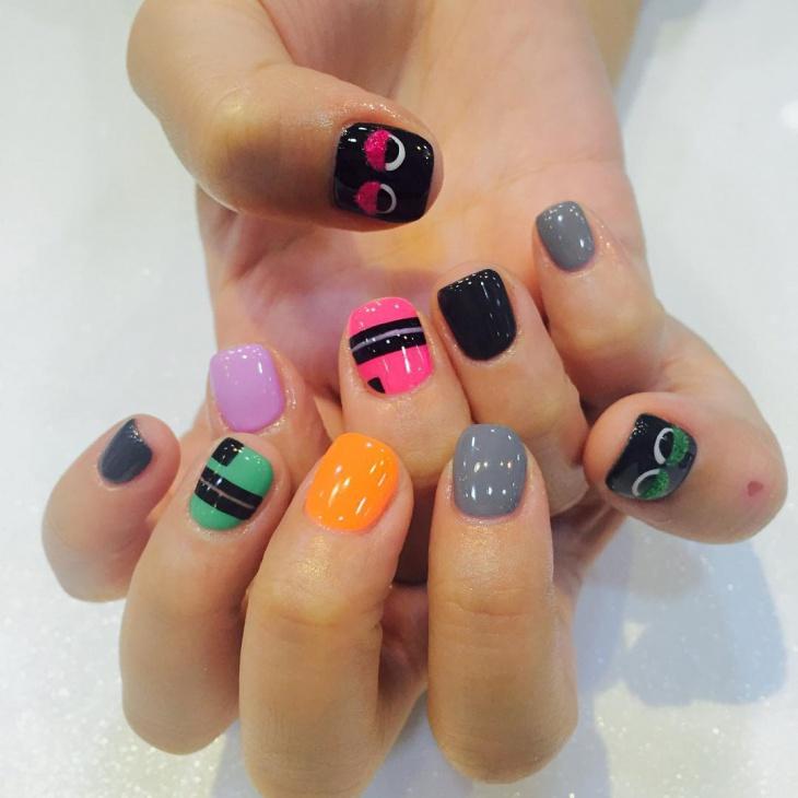 wonderful short nails