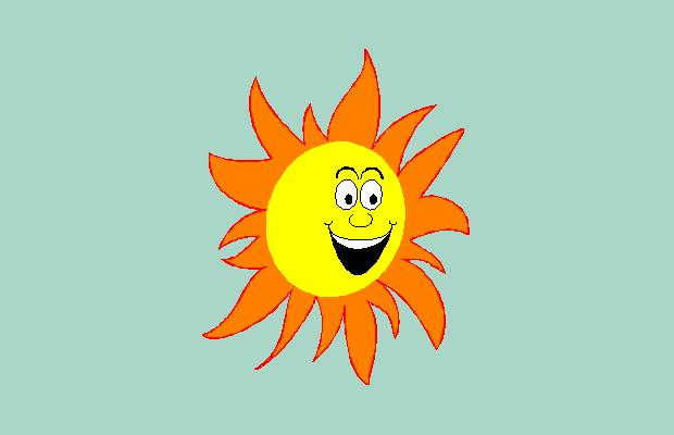 free sun clipart design