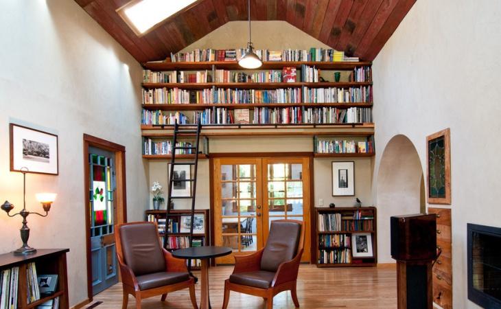 Loft Library Bookshelf Design
