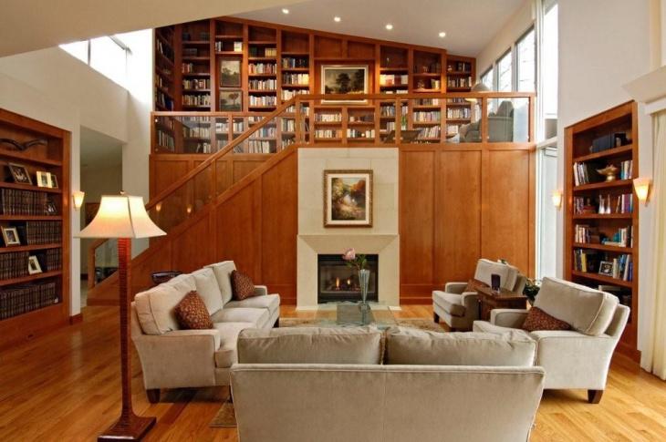 Contemporary Library Furniture Design