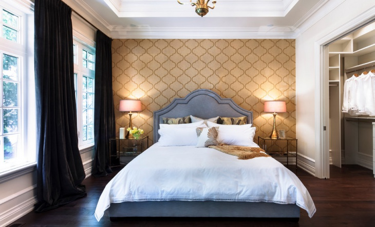 master bedroom wall design