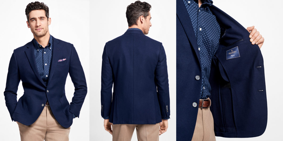 Brooks Brothers Regent Fit Navy Blazer