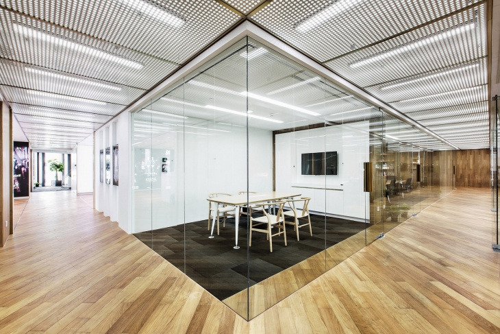 office glass wall design