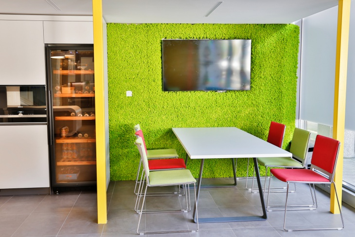office interior wall design