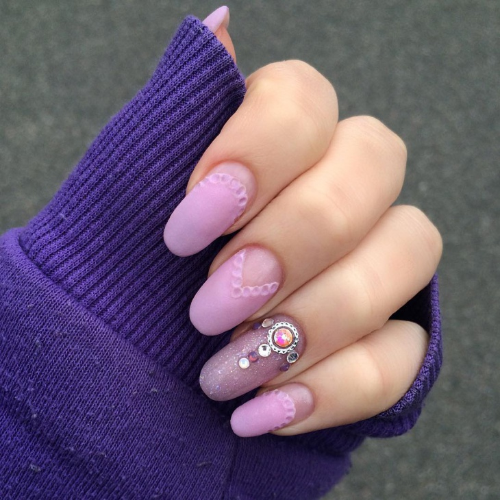 38+ Matte Nail Art Designs, Ideas | Design Trends - Premium PSD ...