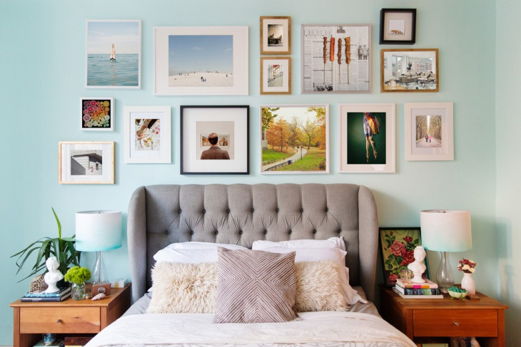 photo frame wall design
