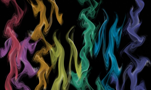 Colored Smoke Photography