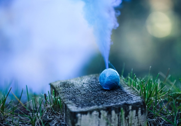 Smoke Bomb Photography