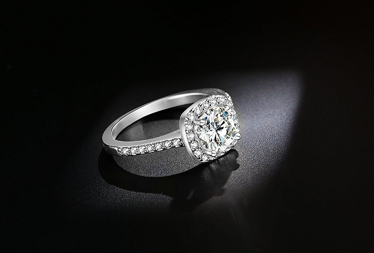 princess cut diamond wedding ring1