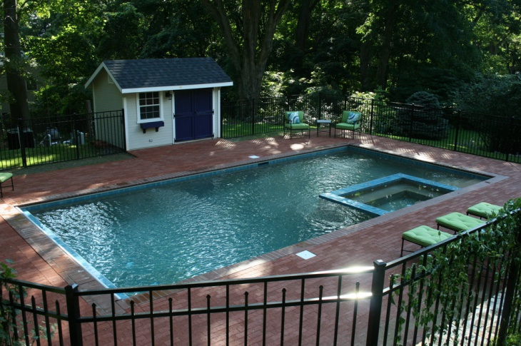 small pool shed design